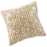 Marquis by Waterford® Samantha Gold Square Decorative Pillow