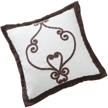 "jcpenney.com | Marquis by Waterford® Avonleigh 18"" Square Decorative Pillow"