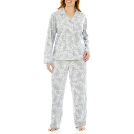 Earth Angels Long Sleeve Pajama Set - Plus