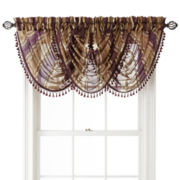 Royal Velvet® Kingston Stripe Waterfall Valance