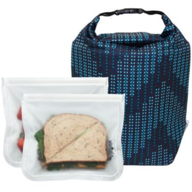 jcpenney.com | BlueAvocado® Click 'n Go with ReZip™ Seal Lunch2-Pack
