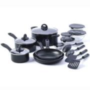 Basic Essentials™ 17-pc. Nonstick Cookware Set