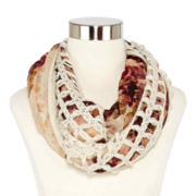 Mixit™ Caged Loop Scarf