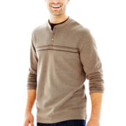 Haggar® Long-Sleeve Doubler Henley