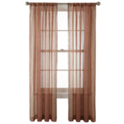 Royal Velvet® Corsica Rod-Pocket Sheer Panel