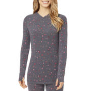 Cuddl Duds® ActiveLayer Long-Sleeve V-Neck Tee