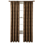 Royal Velvet® Vance Rod-Pocket Lined Curtain Panel