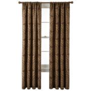 Royal Velvet® Vance Rod-Pocket Lined Curtain Panel