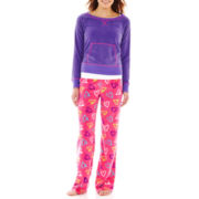 Sleep Riot 3 Pc Fleece Pajama Set