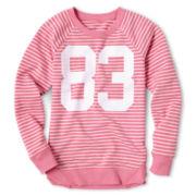 Xersion™ Graphic Long-Sleeve Fleece Sweatshirt - Girls 6-16 and Plus