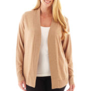 Worthington® Essential Open-Front Cardigan Sweater