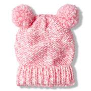 Toby Twist Yarn Turn-Cuff Hat with Critter Ears - Girls 6-16