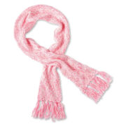 Toby Twist Yarn Fringe Scarf - Girls 6-16