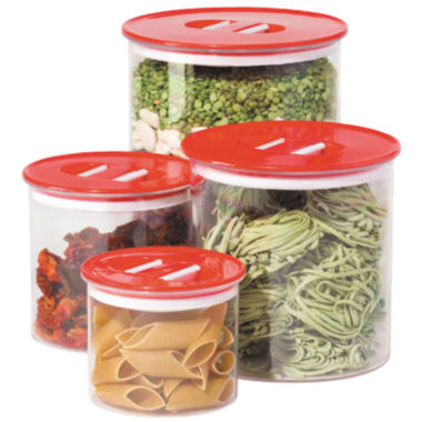 jcpenney.com | OGGI™ Stack n' Store 4-pc. Acrylic Canister Set