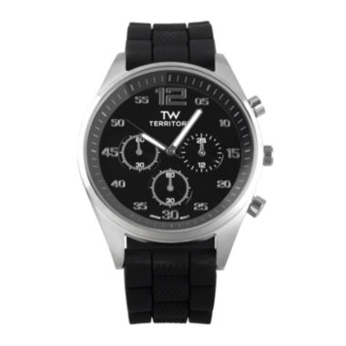 jcpenney.com | Territory Mens Silicone Strap Watch