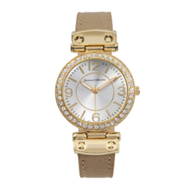 jcpenney.com | Journee Collection Womens Crystal-Accent Watch