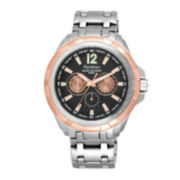 Armitron® All-Sport® Mens Stainless Steel Watch 20/5095BKRG