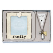 Messages from the Heart® by Sandra Magsamen® Family Mixed Media Pendant Necklace & Gift
