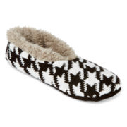 Mixit™ Womens Knit Slipper Socks