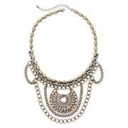 Decree® Chain Drape Necklace