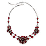 Mixit™ Red Flower Necklace