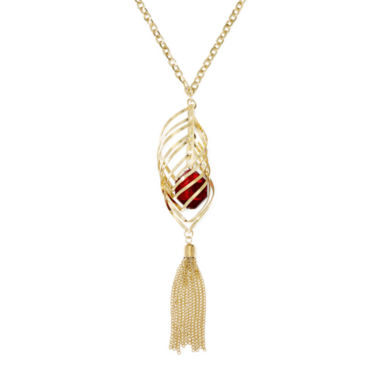 jcpenney.com | Bold Elements™ Tassel Necklace