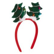 Jingle Bell Christmas Tree Costume Headband