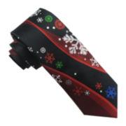 Hallmark® Multi-Foil Snowflake Panel Tie
