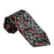 Hallmark® Multi-Foil Candy Cane Tie