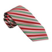 Hallmark® Holiday Striped Tie - Extra Long