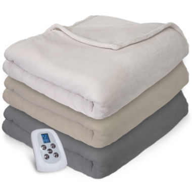 jcpenney.com | Serta® Plush Electric Warming Blanket