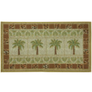 Bacova Oasis Grid Rectangular Rug