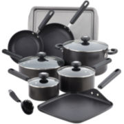 Circulon® II 13-pc Hard-Anodized Nonstick Cookware Set