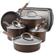 Circulon® Symmetry 11-pc. Hard-Anodized Nonstick Cookware Set