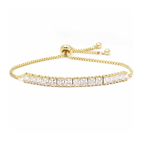 Sparkle Allure Cubic Zirconia Bolo Bracelet
