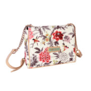Waverly Bird Floral Flap Crossbody Bag