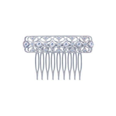 jcpenney.com | Diamonart® Sterling Silver Cubic Zirconia Princess Hair Comb