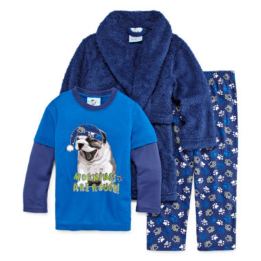 jcpenney.com | Bunz Kidz Boys Long Sleeve Kids Pajama Set-Toddler