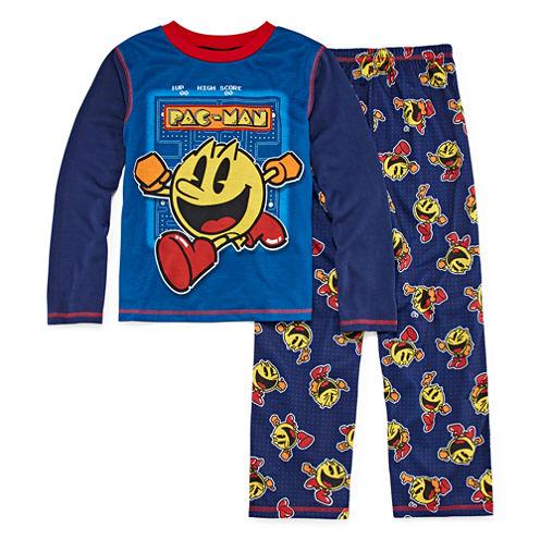 Pacman Kids Pajama Set Boys