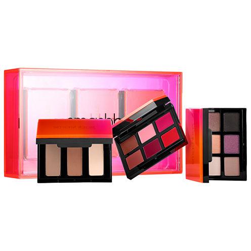Smashbox Light It Up 3 Palette Set: Eyes Contour Lips