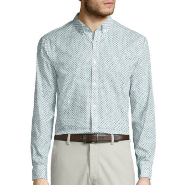 jcpenney.com | Dockers Printed Button-Front Shirt
