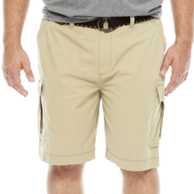 jcpenney.com | The Foundry Big & Tall Supply Co. Twill Cargo Shorts