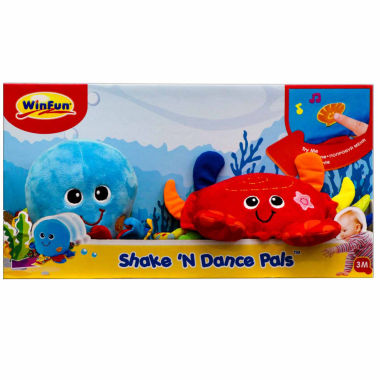 jcpenney.com | Winfun Shake'N Dance Octopus And Crab Stuffed Animals
