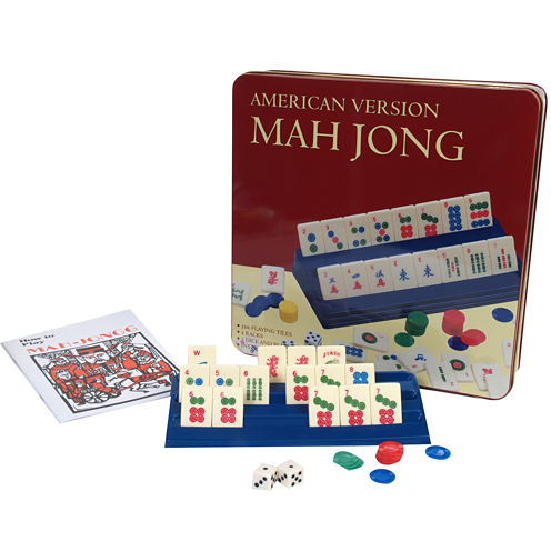 Travel Mahjong In Tin Case