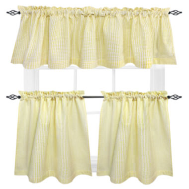 jcpenney.com | Seersucker Rod-Pocket Cotton Valance