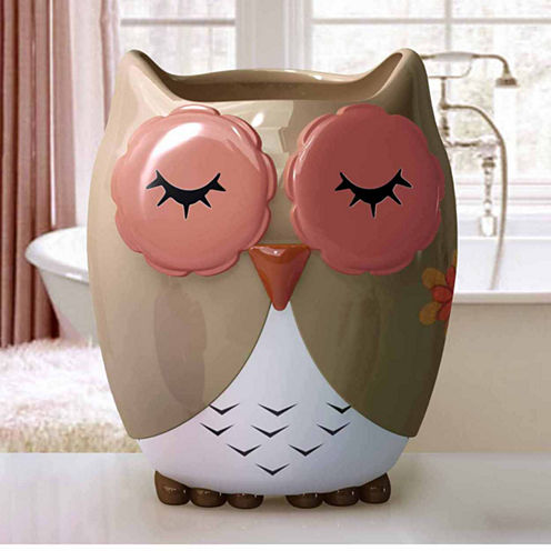 Owl Ya Doin Wastebasket