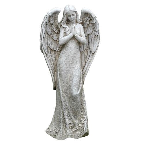 14.5' Praying Angel Outdoor Statue
