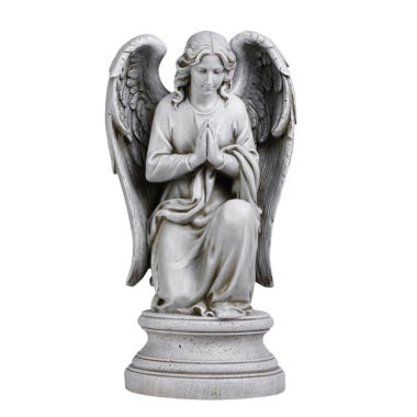 "jcpenney.com | 17.75"" Praying  Angel Outdoor Statue"