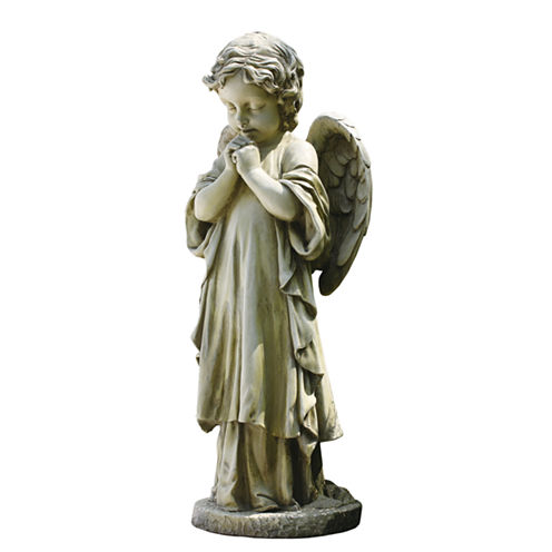 "26"" Praying Angel  Outdoor Statue"