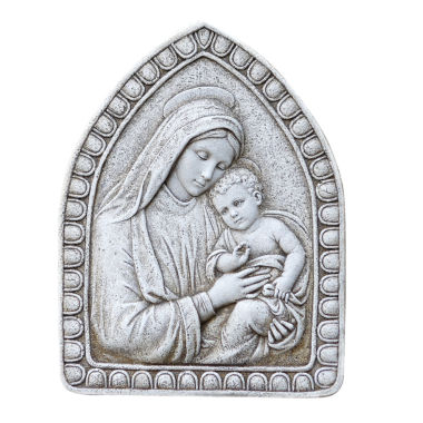 "jcpenney.com | 16"" Madonna And Child Outdoor Plaque"